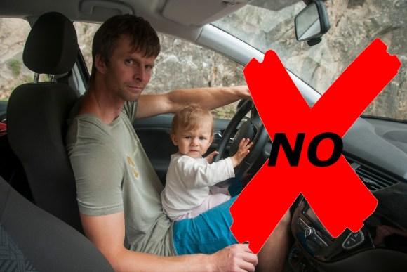 Seguridad bebé en el coche