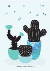 illustration graphique cactus