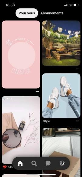 Comment utiliser Pinterest. Capture d'écran.