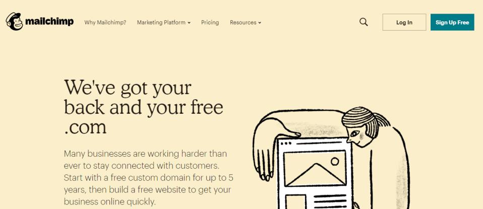 mailchimp emailing tool
