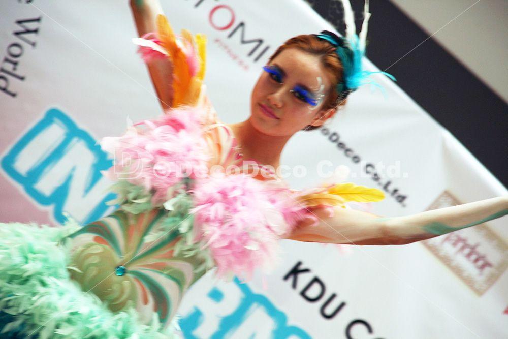 InternationalDay2014 ボディペインティングショー