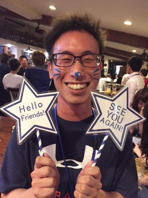 広島外語専門学校同窓大会2017/フェイス&ボディペインティング