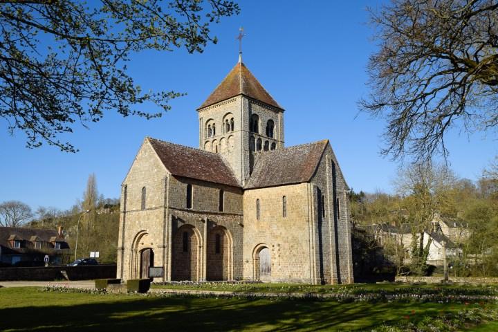 Eglise Notre-Dame-sur-l'eau à Domfront (Orne).