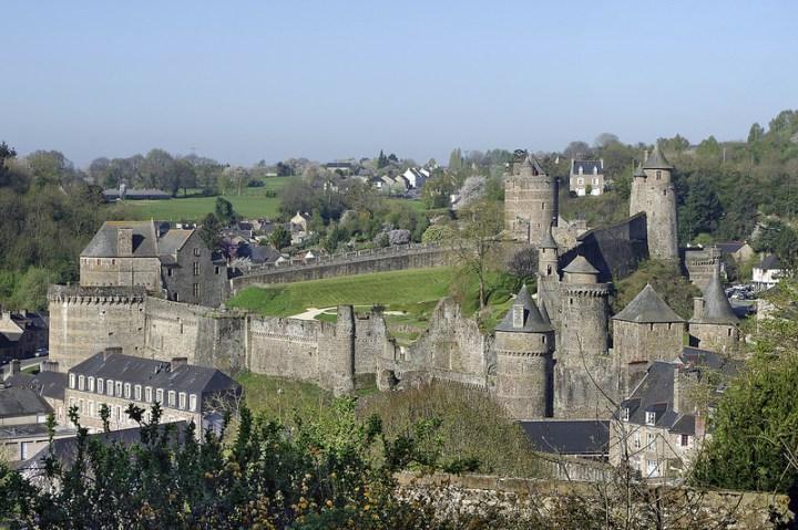 Château de Fougères en Bretagne