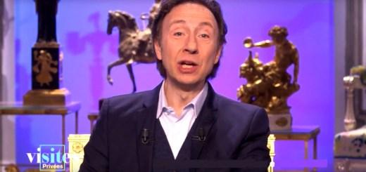 Stéphane Bern, animateur de télévision dans Visites privées