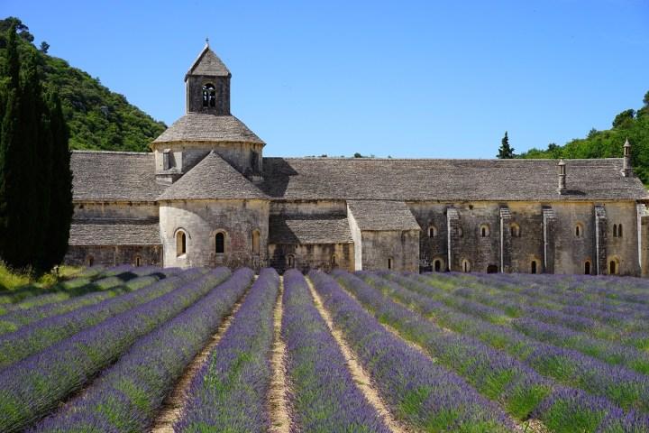 L'abbatiale Notre-Dame de Sénanque (Vaucluse)