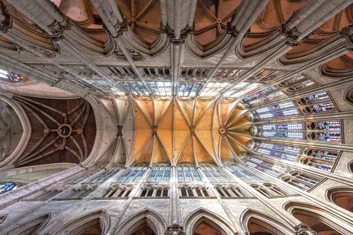 Voûte de la cathédrale de Beauvais