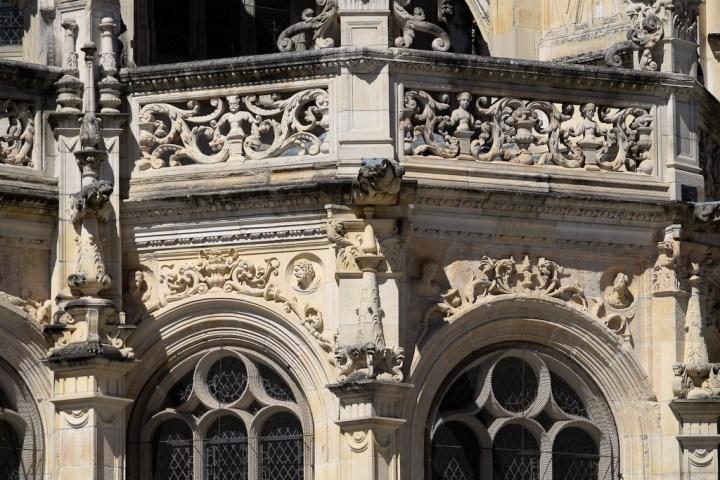 Chevet de l'église Saint-Pierre de Caen.