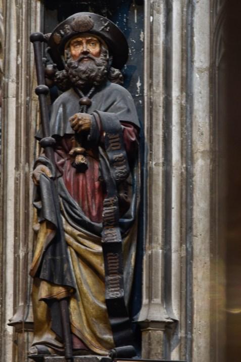 statue de saint Jacques à Albi