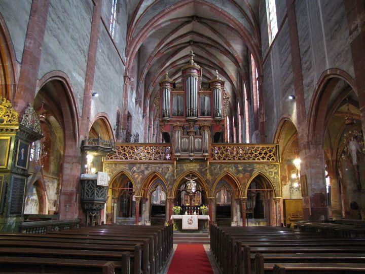 Jubé de Saint-Pierre-le-Jeune à Strasbourg