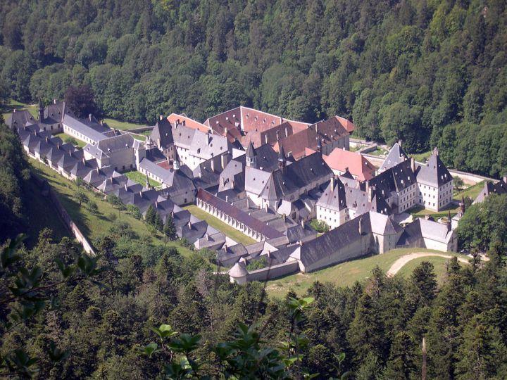 Monastère de la Grande-Chartreuse dans les Alpes