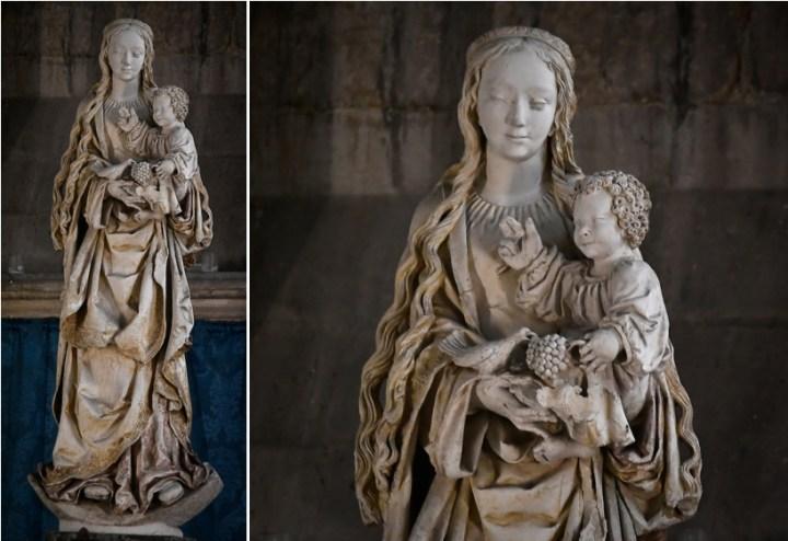 Vierge au raisin à Troyes
