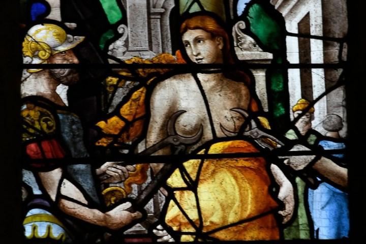 Le martyre de sainte Foy