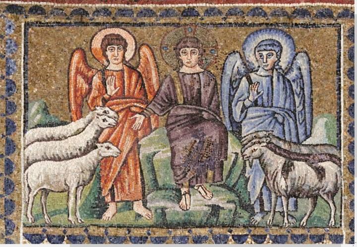 Ange et démon à Ravenne