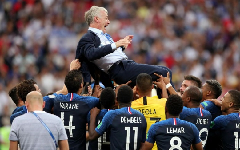 Didier Deschamps coach mentor gagne la coupe du monde 2018