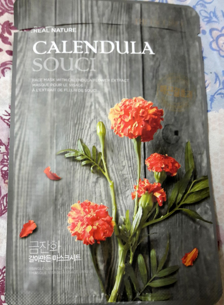 The Face Shop Calendula Mask Review