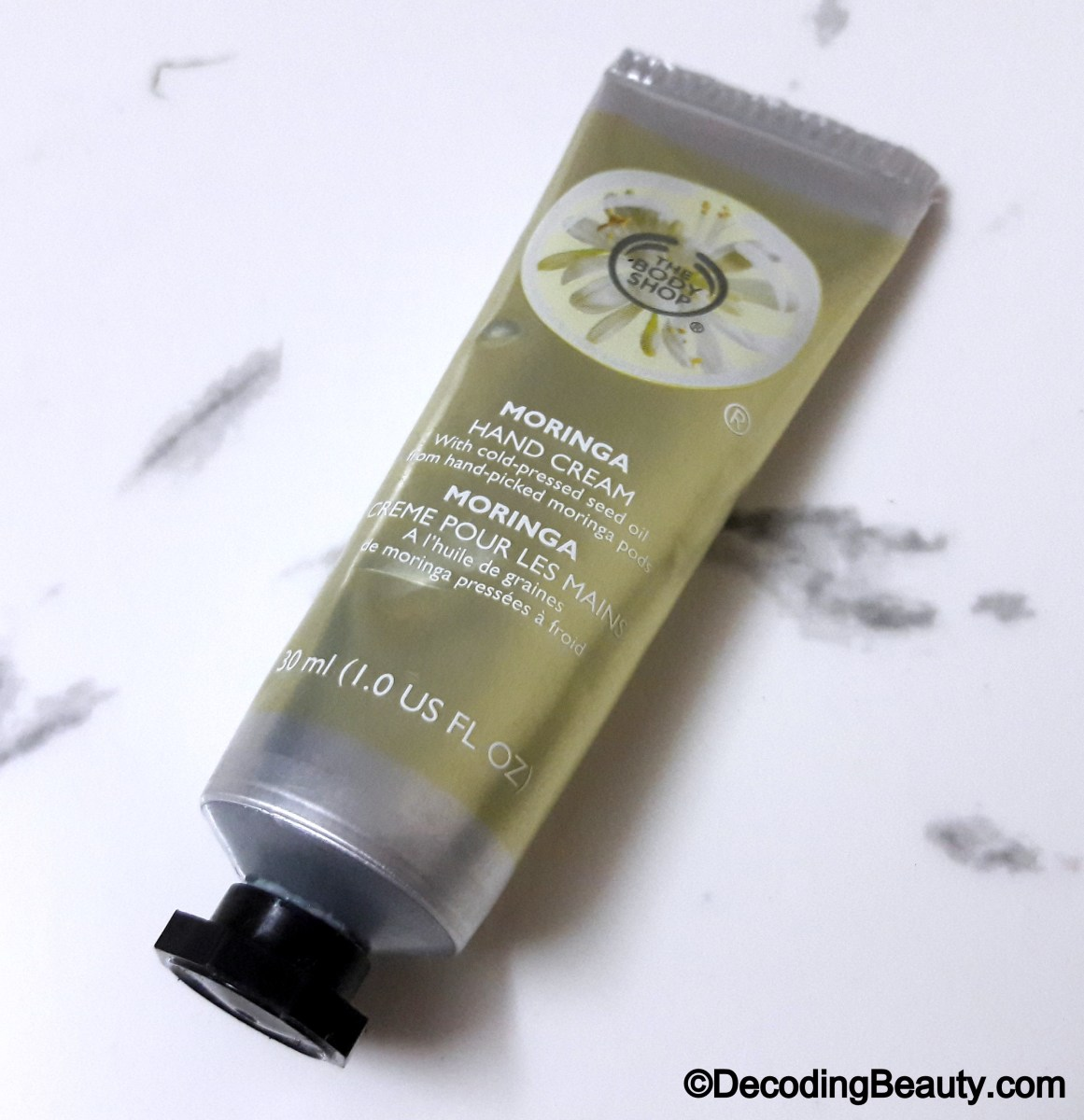 The Body Shop Moringa Hand Cream Review