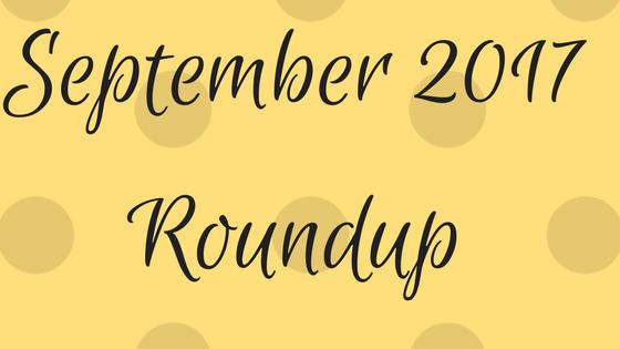 September 2017 Roundup