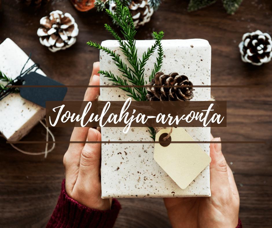 Joulun tuntua & Suuri joululahja-arvonta