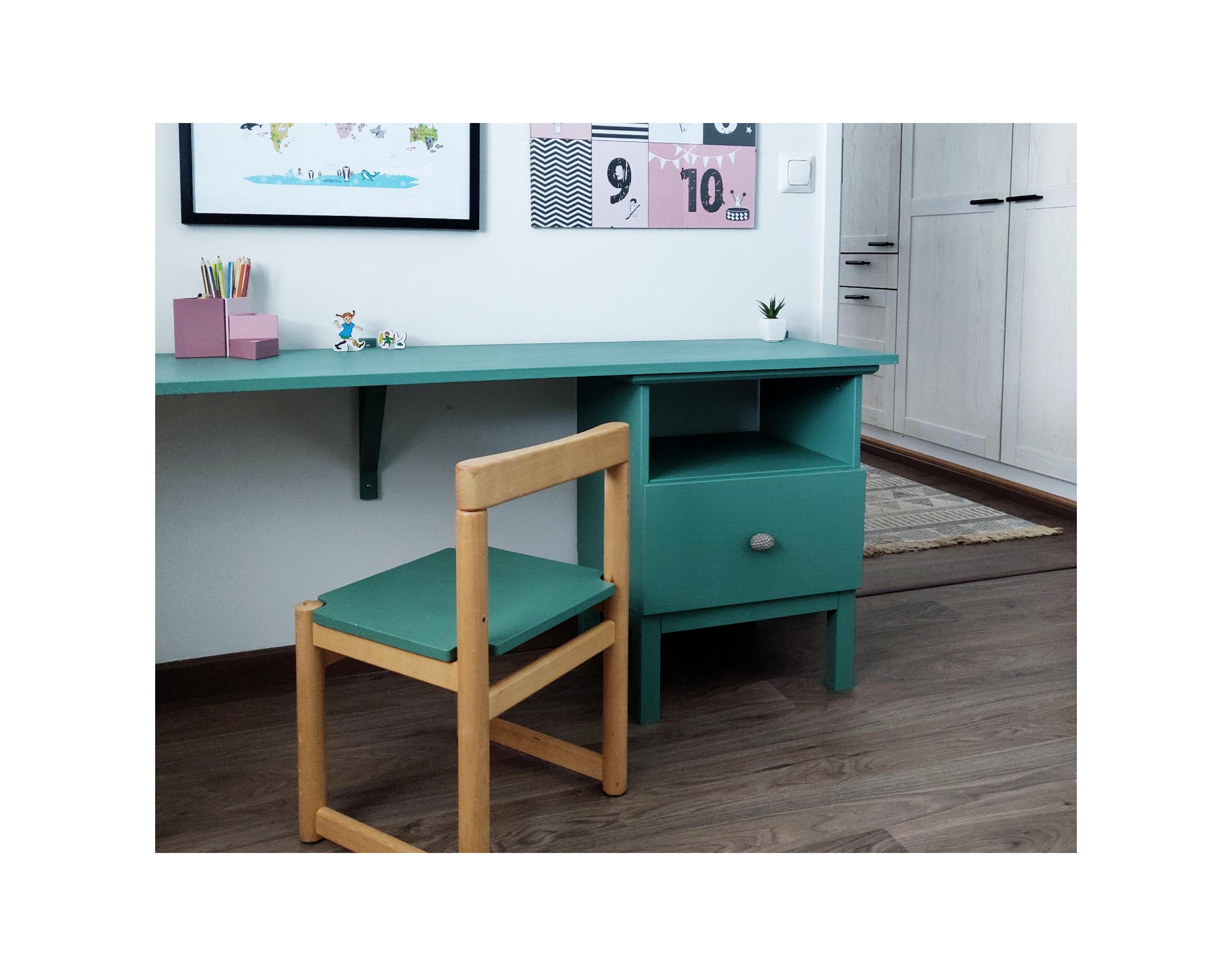 Lastenhuoneen työpöytä – DIY