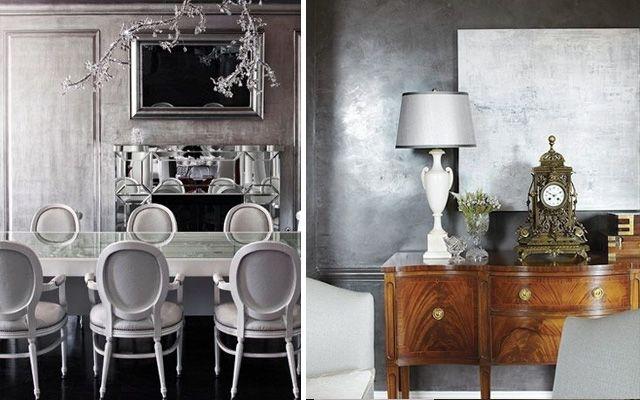 Ideas para decorar en plata