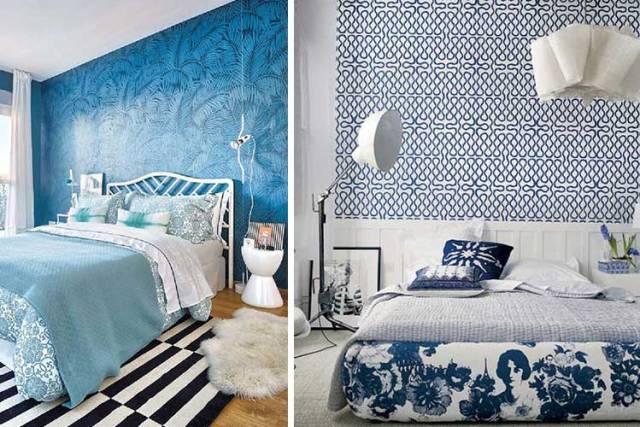 Başlıklar duvar kağıdı mavi tonları