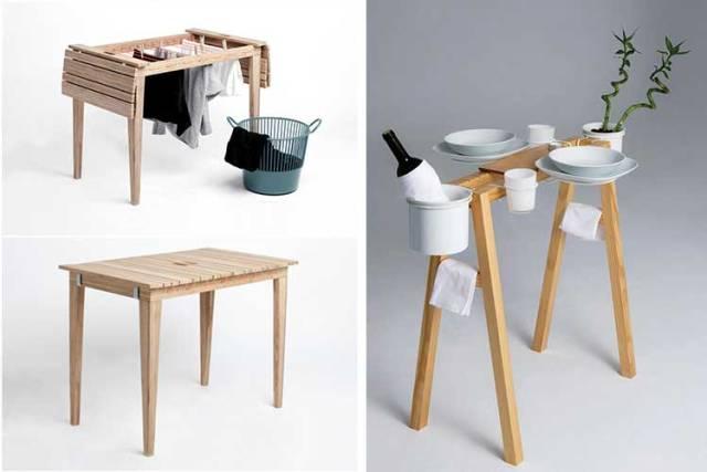 Çift kullanımlık yardımcı masalar