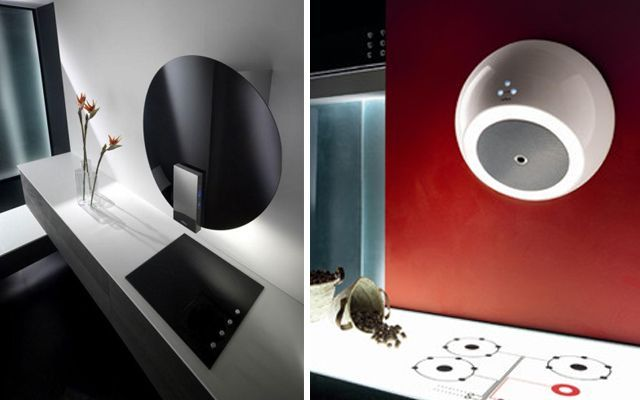 Mutfakları tasarımcı davlumbazlarla dekore edin