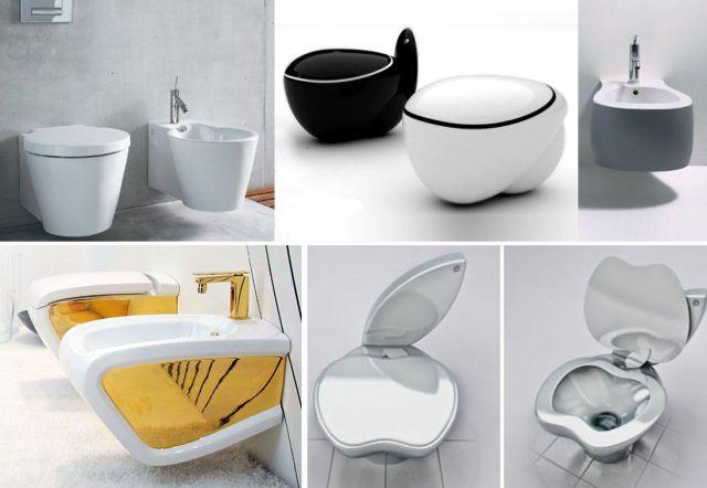 Banyo dekorasyonu - Tasarım tuvaletler