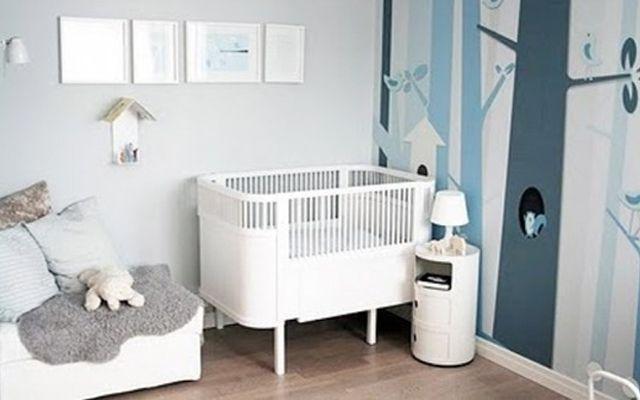 beşik-09 ile-çocuk-yatak odası-dekorasyon
