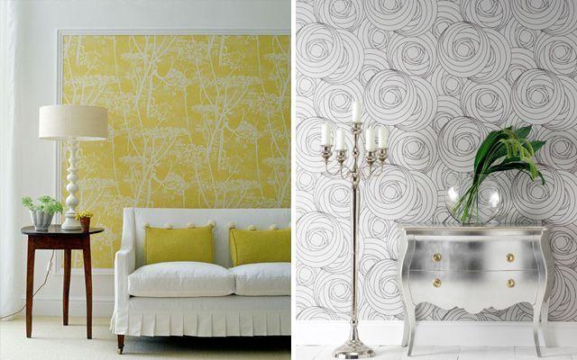 Duvar kağıdı ile duvar dekorasyonu