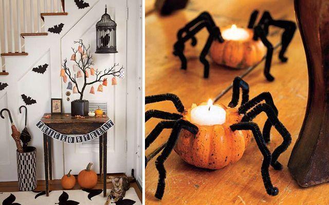 Cadılar Bayramı'nda dekorasyon fikirleri