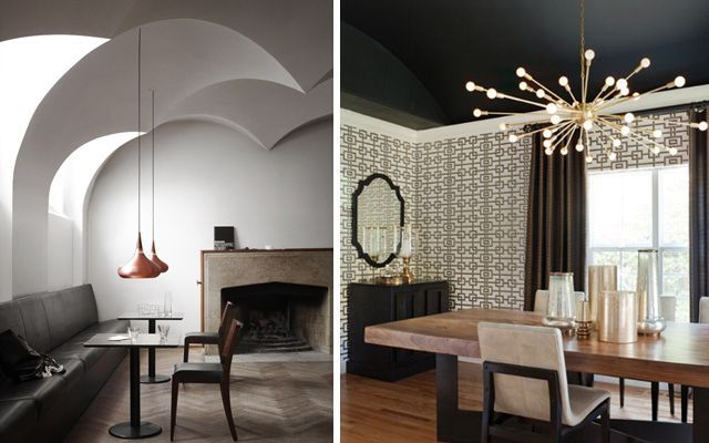 Tavana spot ışığı koyarak evler nasıl dekore edilir