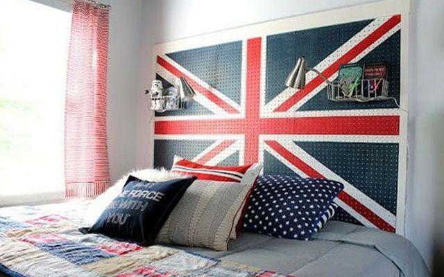 Orijinal yatak başlıkları ile yatak odası dekorasyonu.  Yaratıcı yatak başlıklarını süslemek için 30 fikir.