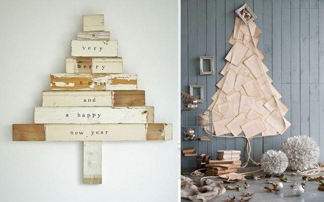 Noel'i dekore etme fikirleri - Modern Noel ağaçları