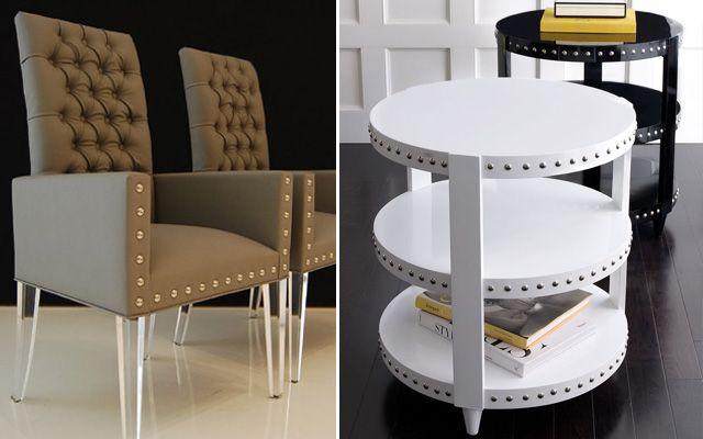 Çıtçıtlı tasarım mobilyalar