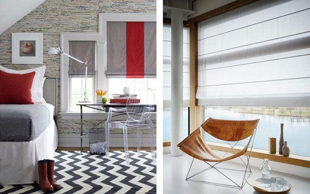 Panjurlarla dekorasyon - çeşitleri ve tasarımları