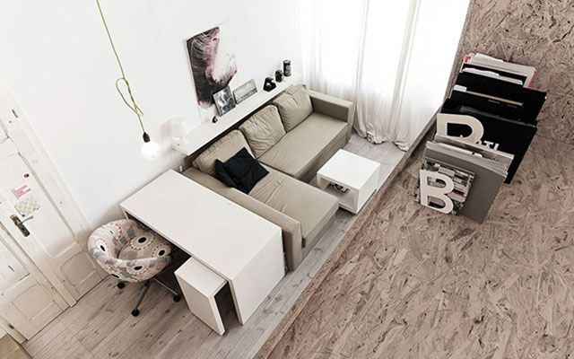 küçük apartman dekorasyonu