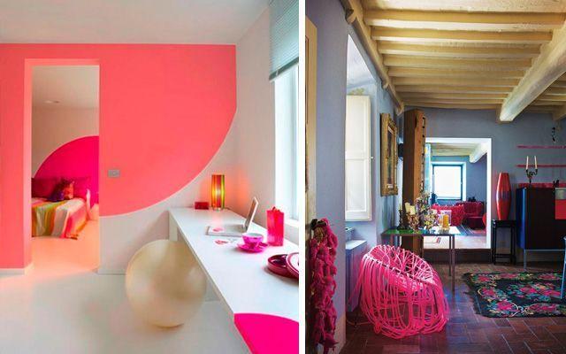 Flor rengi ile evlerin dekorasyonu