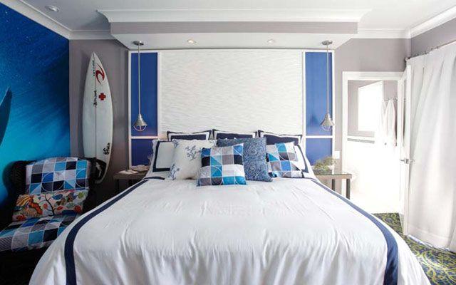 Evleri sörf tahtaları ile dekore etme fikirleri