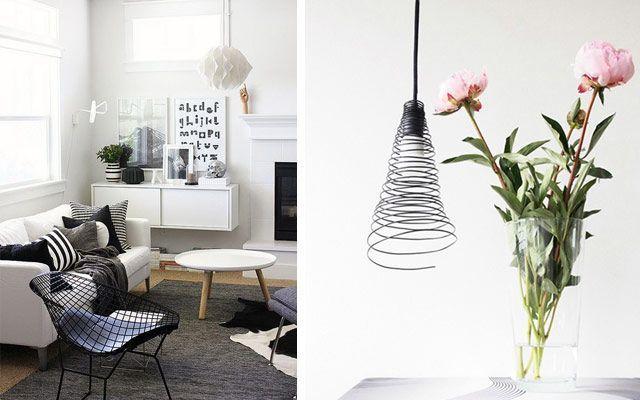 Tel ile dekorasyon için fikirler