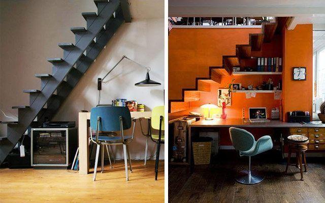 Çalışma merdivenlerin altına nasıl yerleştirilir