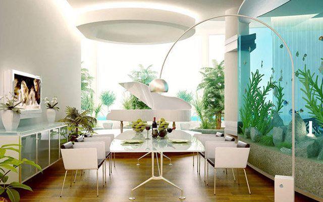 akvaryumlar ile-evde-dekorasyon-fikirleri-18