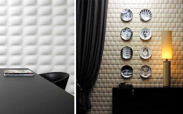 paneller ve 3d duvar kağıtları ile dekorasyon fikirleri