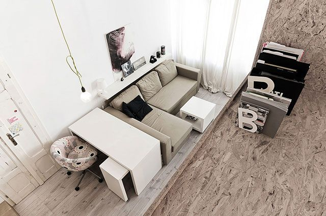 29 m2 daire dağıtımı