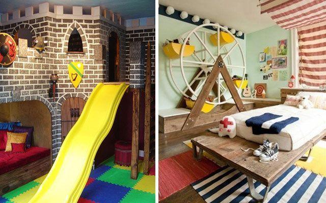 Orijinal çocuk yatak odaları
