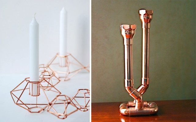 metal rengi ile dekorasyon fikirleri