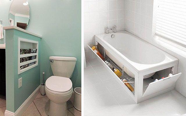 Banyoları saklamak için ipuçları