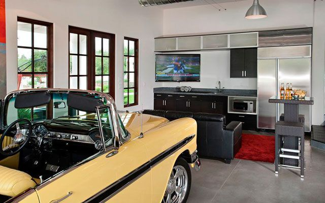Garajlar eve dönüştürüldü