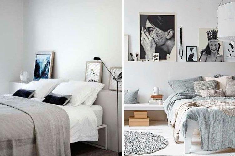 Yatak odasını dekore etmek için orijinal başlıklar